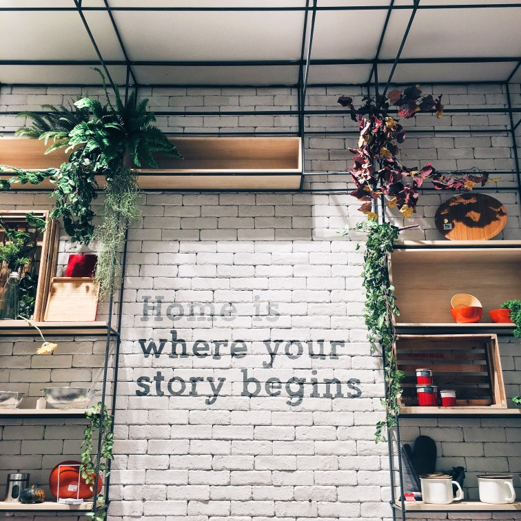 Home is where you build healthy habits that you can carry with you anywhere you go!